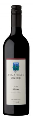 B_Tenafeate Creek Wines Museum Release One Tree Hill Shiraz 2004